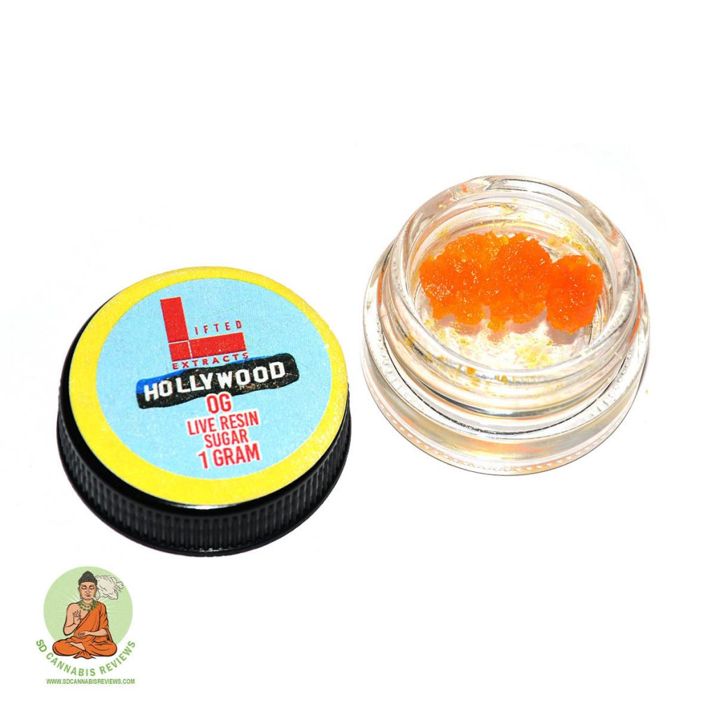 Lifted Extracts Hollywood OG Live Resin Sugar Review Golden Juniper (SpeedyWeedy) Delivery February 2020