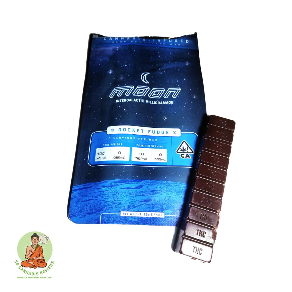 Rocket Fudge Dark Chocolate Bar