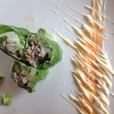 How To Make A Greek Ganja Salad Wrap At Home