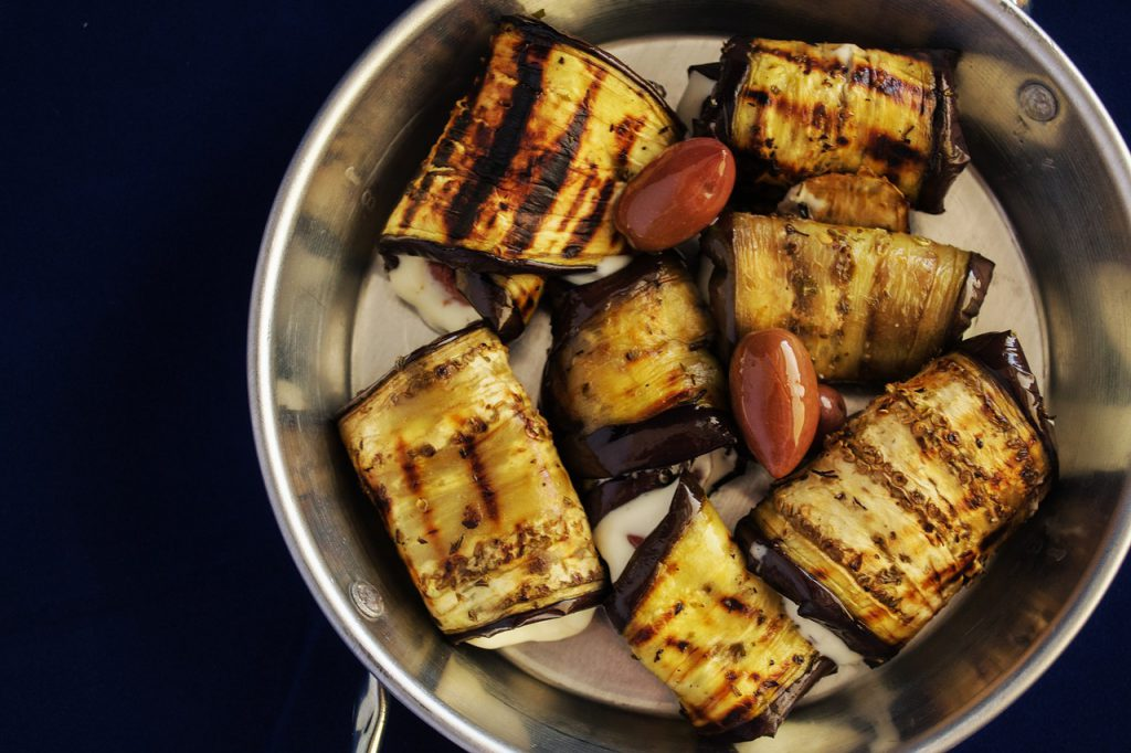 How To Make Cannabis Sausage-Stuffed Eggplant